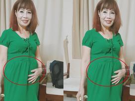 Cô dâu 62 tuổi tiếp tục xuất hiện với bụng bầu vượt mặt, thẳng thắn nói về việc mang thai