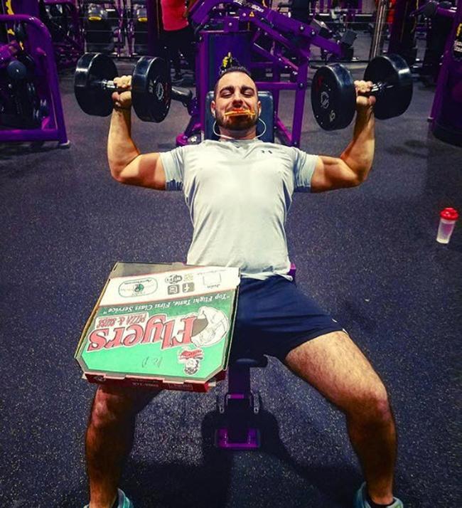 Chùm ảnh vui về thời trang (P2): 1001 tình huống bi hài ở phòng tập gym-1
