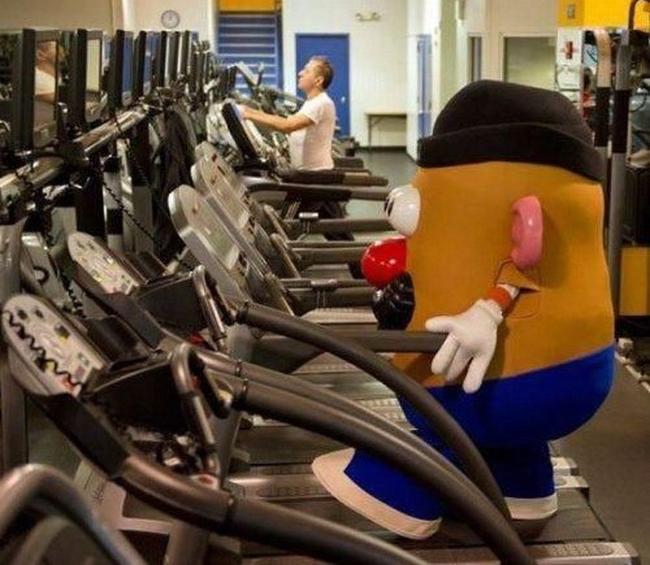 Chùm ảnh vui về thời trang (P2): 1001 tình huống bi hài ở phòng tập gym-7