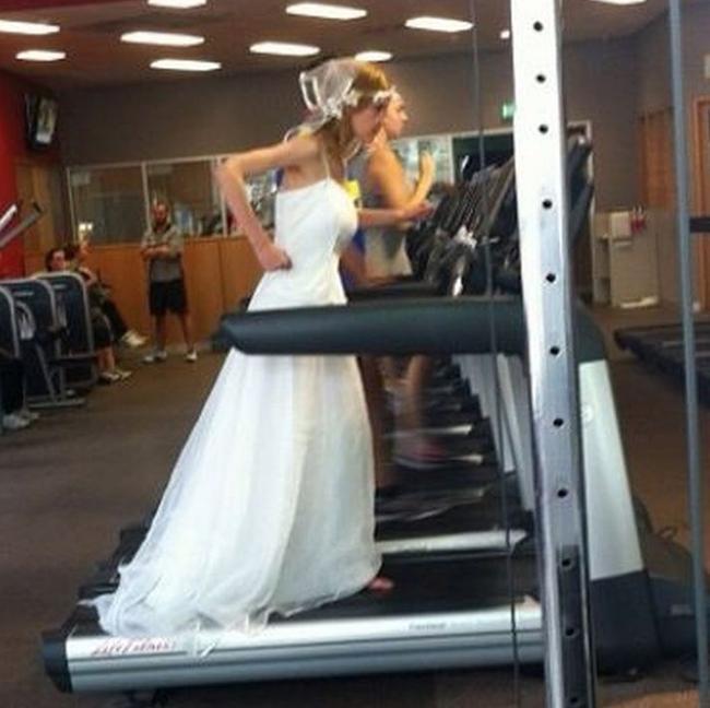 Chùm ảnh vui về thời trang (P2): 1001 tình huống bi hài ở phòng tập gym-9