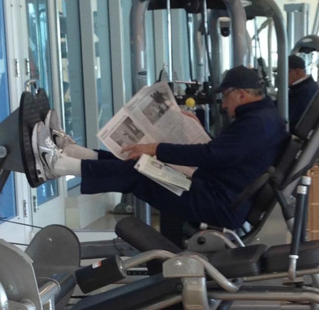 Chùm ảnh vui về thời trang (P2): 1001 tình huống bi hài ở phòng tập gym-4