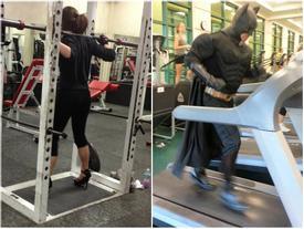 Chùm ảnh vui về thời trang (P2): 1001 tình huống bi hài ở phòng tập gym