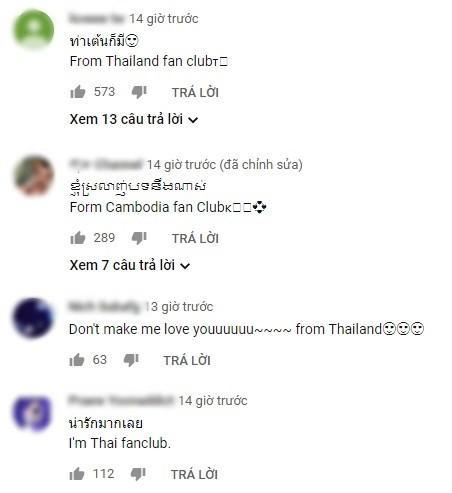 Nettizen Thái bấn loạn, thi nhau thả tim cho dance version Người nào hay của Chi Pu-1