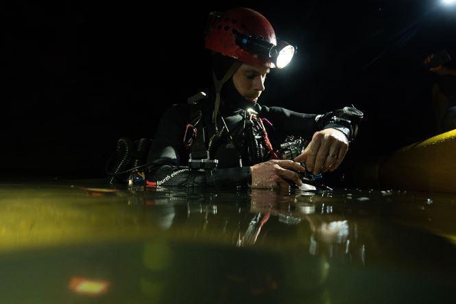 Phát hiện thêm hệ thống hang ngầm sâu trên 90m tại Sơn Đoòng-1