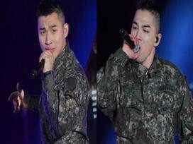 Bất chấp chuỗi bê bối chấn động của Seungri, 2 mảnh Big Bang 'đốt cháy' sân khấu buổi hòa nhạc quân đội
