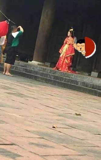 Chi Pu gây bão cộng đồng mạng với hình ảnh rò rỉ từ MV cổ trang sắp ra mắt-3