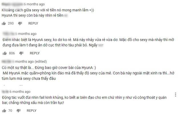 Hot girl Trâm Anh từng khiến cộng đồng fan Kpop phẫn nộ vì cover phản cảm hit khủng của nữ thần sexy HyunA-2