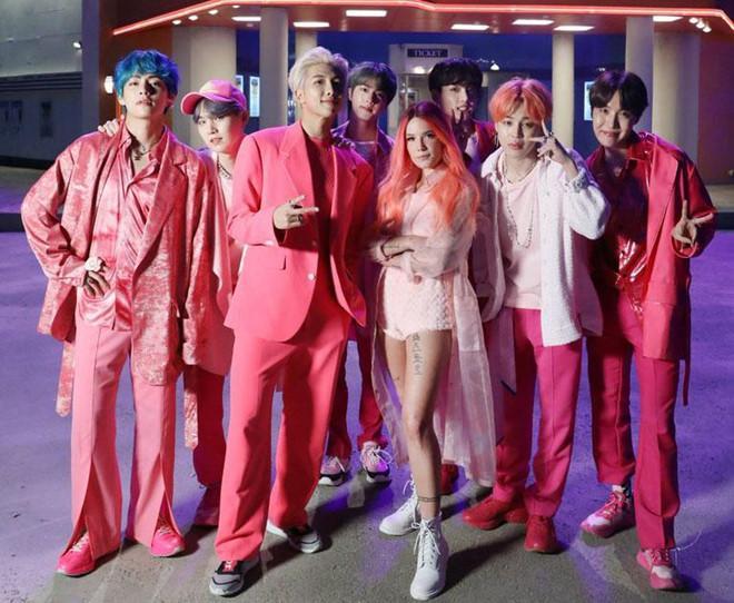 BTS thâu tóm hàng loạt BXH với ca khúc mới hợp tác sao Mỹ-1