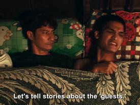 Chết cười với màn 'đụng chạm da thịt' đáng nhớ của Mạc Văn Khoa và Huy Khánh
