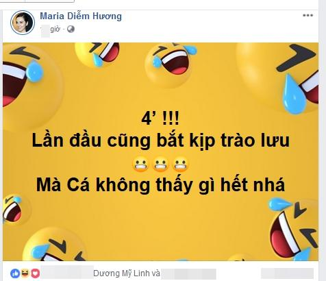 Đang lúc clip nóng bị nghi của hot girl Trâm Anh lan truyền mạnh, Hoa hậu Diễm Hương ẩn ý: Lần đầu bắt kịp trào lưu-3