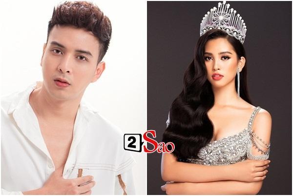Chỉ nhờ một tấm hình giả gái xuất sắc, dân mạng phát hiện Hồ Quang Hiếu có tướng phu thê với đương kim Hoa hậu Việt Nam-5