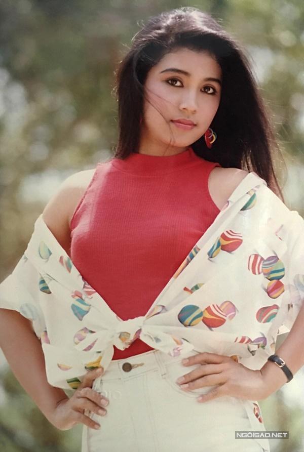 Vua ảnh lịch tiết lộ ảnh Việt Trinh thập niên 90-10
