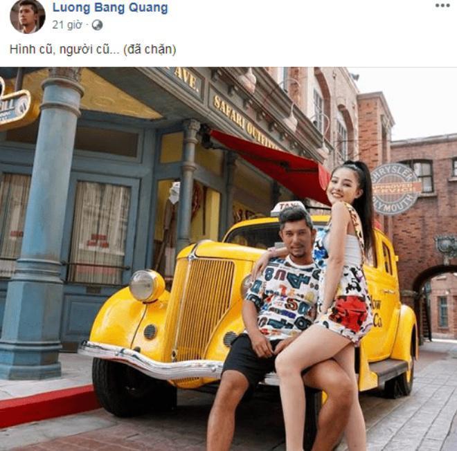 Lương Bằng Quang úp mở chuyện chia tay hotgirl ngực khủng Ngân 98, chặn Facebook và viết status phũ phàng-1