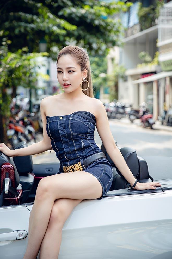 Hot girl Trâm Anh tập luyện thế nào để có thân hình gợi cảm?-6