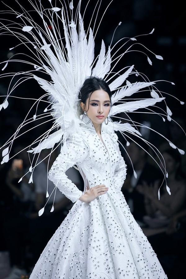 Nhận khen chê trái chiều, Hoa hậu Phương Nga vẫn cảm ơn khán giả-1