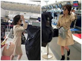 Thời trang sân bay của Song Hye Kyo còn đẹp và sành điệu hơn cả trên thảm đỏ
