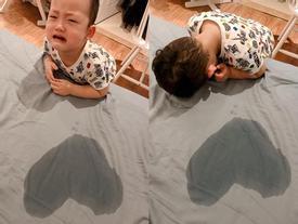 Khoai Tây tạo kiệt tác hình trái tim từ thứ không ai ngờ tặng Ly Kute nhưng thái độ sau đó của cậu bé mới gây chú ý