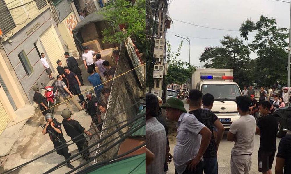 Cảnh sát bắt 4 người cùng xe tải chở 600kg ma túy ở Nghệ An-1