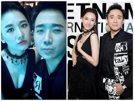 Không chỉ chăm diện đồ đôi, Trấn Thành - Hari Won bây giờ còn kẻ lông mày như thể 'copy - paste'