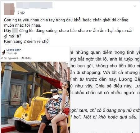 Dùng chuyện chia tay Ngân 98 để PR sản phẩm mới, Lương Bằng Quang muốn giấu đầu nhưng ai ngờ lại lộ rõ đuôi?-7