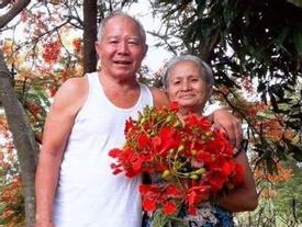 Cụ ông 73 tuổi hái hoa phượng tặng vợ và chuyện tình cảm động 40 năm