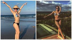 Diện lại bộ bikini từ năm ngoái, ca sĩ Phương Linh bị lộ khuyết điểm vì người chụp 'không có tâm'?