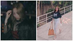 Bị la ó vì khoe vòng 1 quá đà, bạn gái Quang Hải bỗng ăn mặc kín đáo bất ngờ