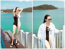 Lần đầu tiên Phượng Chanel diện áo tắm nóng bỏng và cũng là lần đầu tiên người xem thấy cô ấy TẠM ĐẸP