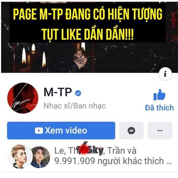 Vị trí của Sơn Tùng M-TP trên facebook đang có nguy cơ lung lay vì một điềm báo-2