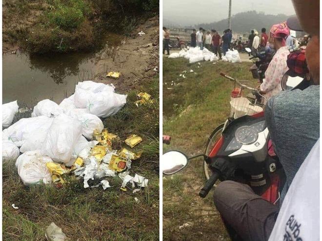 Nghệ An thu giữ gần 1 tấn nghi ma túy vứt bên vệ đường-1