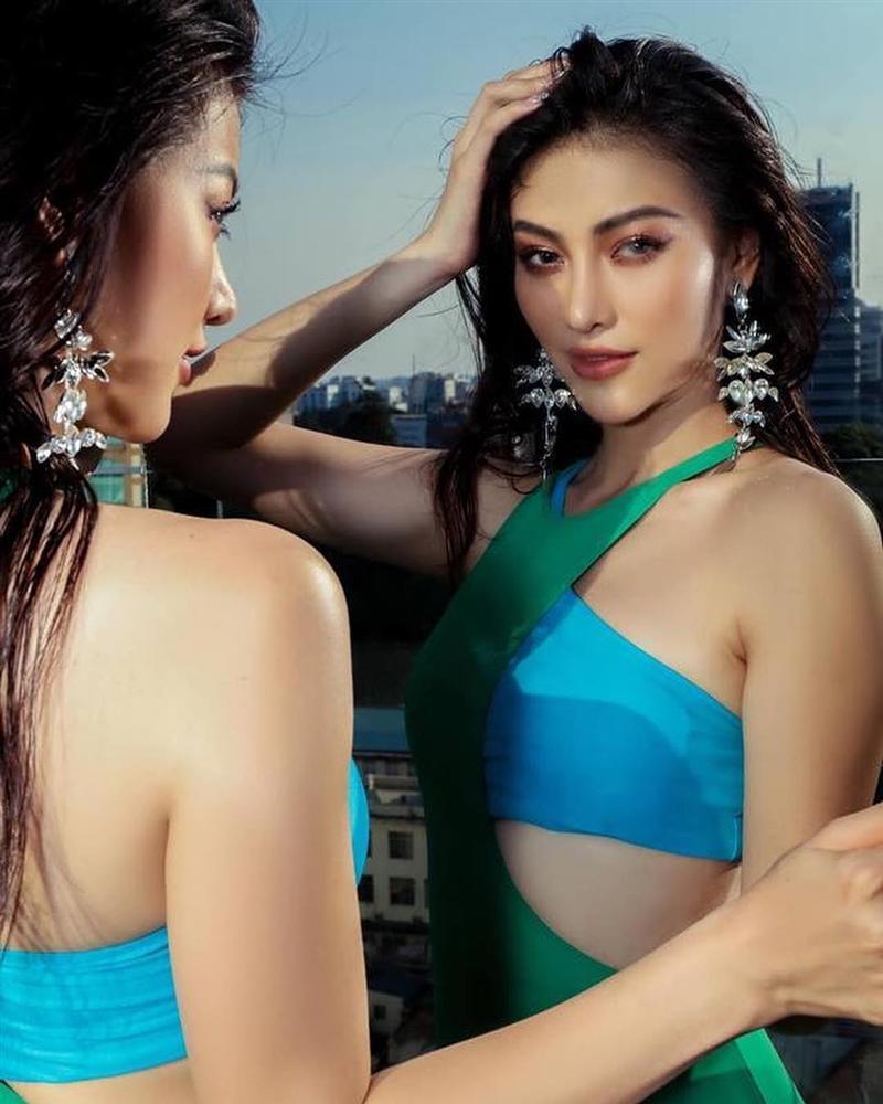 Thay mặt như thay áo, Hoa hậu Trái đất 2018 Phương Khánh bị nghi nghiện phẫu thuật thẩm mỹ khó dừng-12