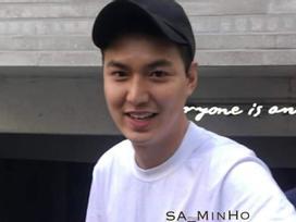 Lee Min Ho vẫn điển trai dù tăng cân mũm mĩm trông thấy