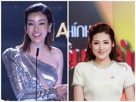 Đỗ Mỹ Linh, Tú Anh, Thụy Vân muốn độn thổ vì sự cố trên sóng trực tiếp