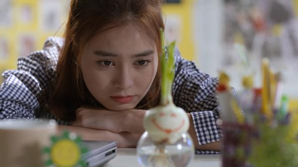 Bình An xin Lan Ngọc đừng bỏ rơi mình trong tập 50 Mối Tình Đầu Của Tôi-3