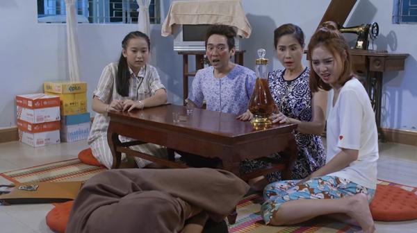 Bình An xin Lan Ngọc đừng bỏ rơi mình trong tập 50 Mối Tình Đầu Của Tôi-9