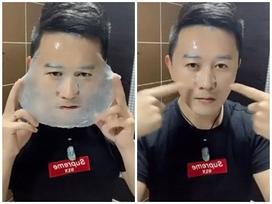 Choáng váng trước kĩ nghệ đắp mặt nạ chuẩn đến từng centimet của chàng thanh niên