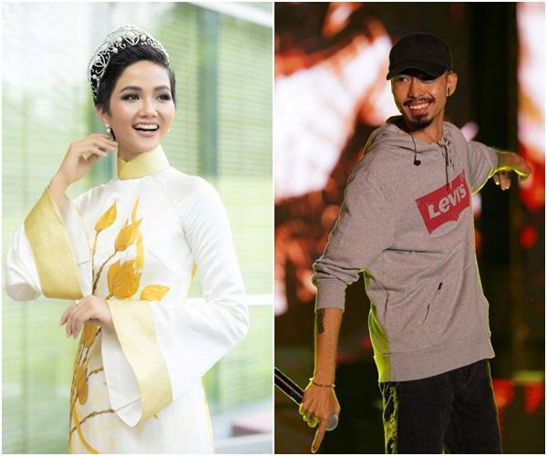 Rapper Đen Vâu đòi đi thi Hoa hậu Hoàn vũ Việt Nam 2019 và phản ứng cực hài của đương kim HHen Niê-5