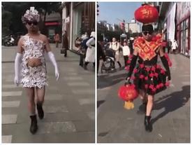 Dị nhất Vietnam International Fashion Week cũng phải 'chào thua' trước bộ sưu tập thời trang có 1-0-2 này
