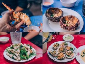 Đã mắt trước thiên đường ẩm thực tôm hùm, cua hấp ở Nha Trang