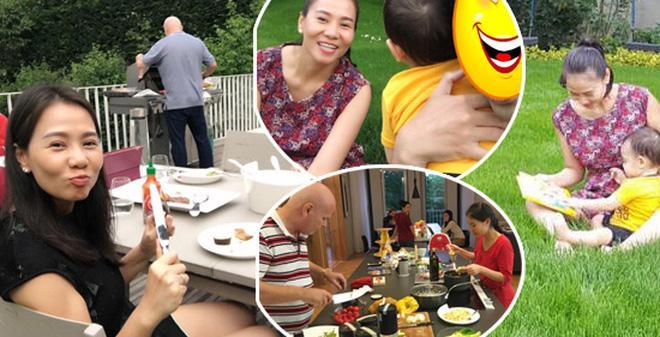 Thu Minh khoe hạnh phúc đời thường bên chồng con, Hari Won lại chỉ trầm trồ: Nhà chị đẹp quá-6