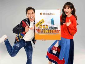 Vợ chồng Trấn Thành quảng bá 'mua bán nhà kiểu mới'