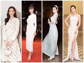 Cứ diện váy áo tông trắng từ Đặng Thu Thảo, Hương Giang đến Đông Nhi đều 'chinh phục' khán giả