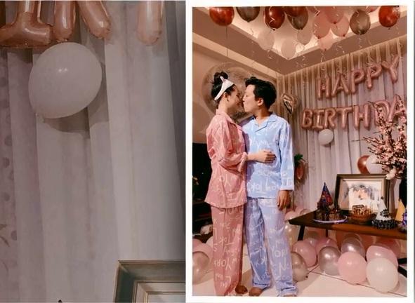 Rò rỉ hình ảnh tiệc sinh nhật Trường Giang: Danh hài ôm hôn, bế bổng Nhã Phương vô cùng hạnh phúc-3