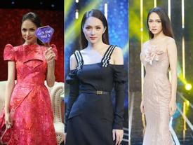 Đi 'mai mối' mà Hương Giang mặc đẹp lấn át, có phải muốn 'hút' hết trai đẹp hay không?