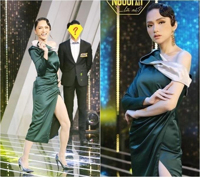 Đi mai mối mà Hương Giang mặc đẹp lấn át, có phải muốn hút hết trai đẹp hay không?-13