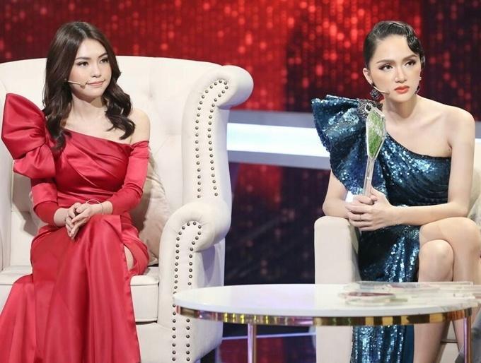 Đi mai mối mà Hương Giang mặc đẹp lấn át, có phải muốn hút hết trai đẹp hay không?-12