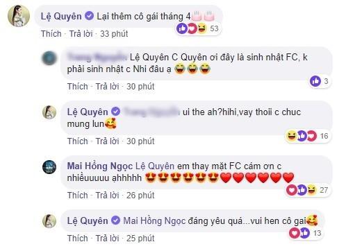 Sau lùm xùm, Lệ Quyên công khai mừng sinh nhật cô gái tháng 4 mà không hay biết Đông Nhi sinh tháng 10-2