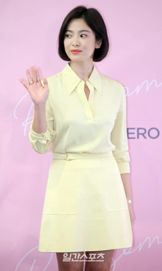 Cận cảnh gương mặt đẹp không tì vết của mỹ nhân U40 Song Hye Kyo-3