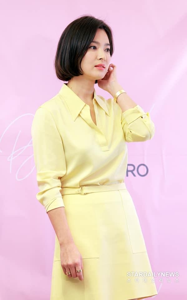 Cận cảnh gương mặt đẹp không tì vết của mỹ nhân U40 Song Hye Kyo-4