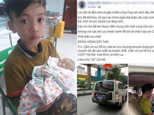 Bác sĩ đã cố hết sức, em trai cậu bé Sơn La Vì Quyết Chiến vượt 103km bằng xe đạp về nhà yên nghỉ